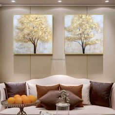 Set of 2 painting Gold Tree of life acrylic Paintings modern on canvas Large Original texture Wall Art Pictures for living room caudro - - Flower Painting Canvas, Large Painting, Texture Painting, Acrylic Paintings, Acrylic Art, Abstract Tree Painting, Original Paintings, Living Room Pictures, Wall Art Pictures