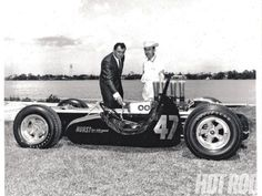 Where It All Began - Smokey Yunicks Capsule Car Sidecar Indy 500 Racer - Hot Rod Magazine