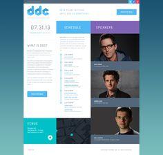 Branding: DDC Website Homepage design by Julien Renvoye