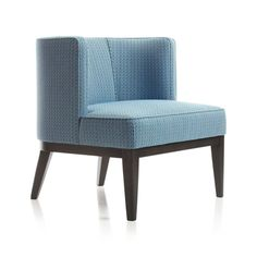 Pro:  Styel; Con: The Hue is more of a blut earth tone than a jewel tone. Grayson Chair  | Crate and Barrel