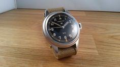 Gorgeous Hamilton g.s tropicalized watch!