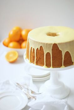 Orange chiffon cake from simmer & boyle ... a masterpiece of deliciousness!