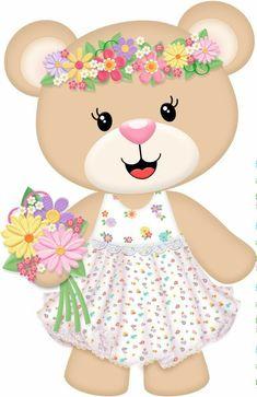 Teddy Bear Cartoon, Cute Teddy Bears, Baby Girl Quilts, Girls Quilts, Best Friend Poems, Children Sketch, Felt Templates, Blue Nose Friends, Tsumtsum