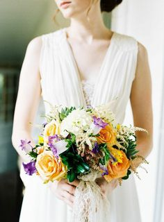 24 Prettiest Little Wedding Bouquets to Have and to Hold - Joey Kennedy Photography