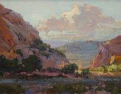 Morning Rays by Kathryn Stats - Greenhouse Gallery of Fine Art