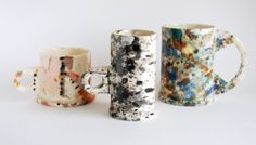 PETER SHIRE splatter mugs