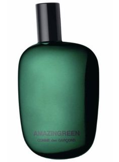 Amazingreen by Comme des Garcons is a fresh, woody Aromatic Green fragrance. TOP NOTES: Palm tree leaves, green pepper, dew mist, jungle leaves. HEART NOTES: Ivy leaves, orris roots, coriander seeds, silex (what is silex?) BASE NOTES: Gunpowder accord (gunpowder accord!!), vetiver, smoke, white musk. - Fragrantica