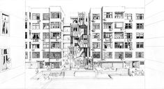 Antidote to Modernism: Feifei Feng's Bespoke Intervention on Slab Housing in Jinan | ArchDaily