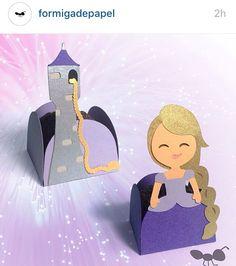 Forminha Rapunzel