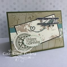 Carolina Evans - Stampin' Up! Demonstrator, Melbourne Australia: Hurry last days before Bye Bi-plane #carolinaevans #stampinup #studioevans #occasions2016 #saleabration2016 #handmade