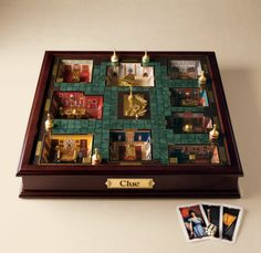 my first board game #cluedo<--- why is this so awesome? In America we just have Clue and it's flat and not cool-looking like this.