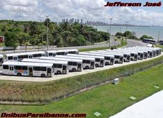 Prefeito entrega 35 ônibus novos e defende qualidade no serviço de transporte em João Pessoa – Portal Ônibus Paraibanos