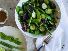 Transform your greens and vegetables with these bright, fresh, aromatic oil-free salad dressing recipes without all the calories.