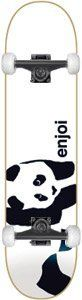 Enjoi Whitey Panda Complete -7.6 by Enjoi. $103.95. Fully assembled with Essential black trucks, Essential white 52mm wheels and Essential Abec-3 bearings.. Professional quality skateboard. ENJOI WHITEY PANDA COMPLETE -7.6