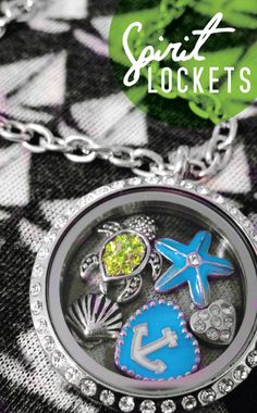 """These """"Spirit Lockets"""" are really cool! Maybe I need one for Christmas... hint hint"""