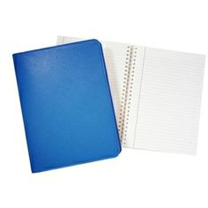 "Awesome colors. Great place to keep ideas :: 9"" Wire-O-Notebook, Brights Leather"