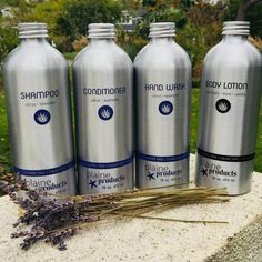 Environmentally Friendly Shampoo is one of the many sustainable bath products created by Plaine Products.