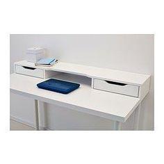 ALEX Módulo adicional, branco - 120x10 cm - IKEA