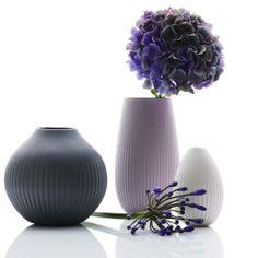 Vase Alice, porcelain, handmade in Austria by feinedinge*   desiary.de - identity store