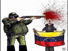 Protestar es delito penado con muerte en Venezuela