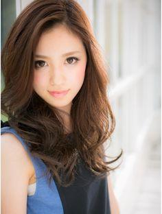 カバーヘア ブリス 北浦和西口店(COVER HAIR bliss)*+COVER HAIR+*…顔色もキレイに魅せる!艶ブラウンの大人ロング