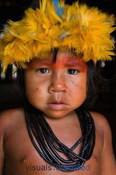 Xingu child. Ton Koene.