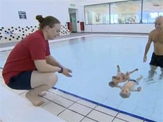 9-month-old synchronized swimmers delight KLG and Hoda - guess I better start teaching chris now!