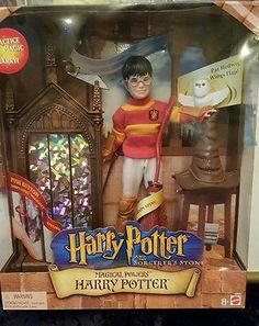 MINT Harry Potter Magical Powers Doll 2001 Mattel