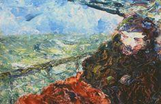 Jack Butler Yeats (Irish, 1871-1957), The Ocean Man, 1952. Oil on board, 14 x 21 in.