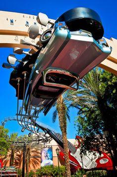 day 29: Favorite attraction - Aerosmith Rockin' Roller Coaster - Disney's Hollywood Studios