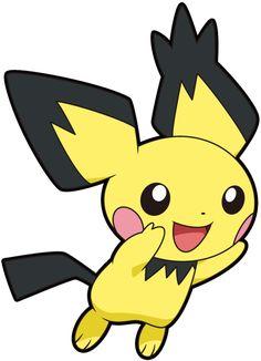 Pokemon Pokedex, Pikachu Y Raichu, Pichu Pokemon, Baby Pokemon, Gold Pokemon, Pokemon 20, Pokemon Games, Pokemon Stuff, Pokemon Original