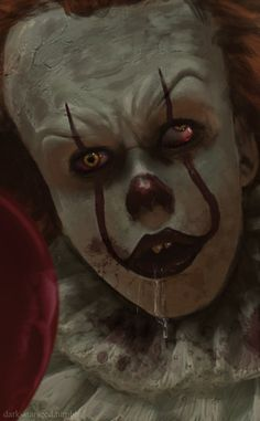 Pennywise the drooling clown (…Number 4?) Because I….uhm…you know?