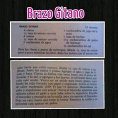 Brazo Gitano (boricua) receta •bandeja plana