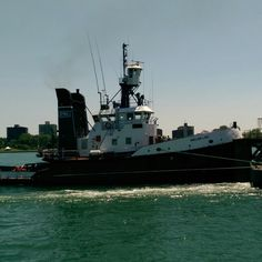 A Tug on the Detroit River