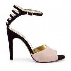 Black Taupe Heel.