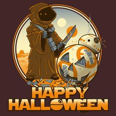 Star Wars - The Force Awakens - Halloween T-Shirt by Kgullholmen Star Wars Halloween, Disney Halloween, Halloween Themes, Happy Halloween, Halloween Tricks, Halloween 2015, Star Wars Light, Star Wars Art, Mundo Geek