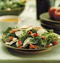 Canadian Spinach Salad With Warm Bacon Vinaigrette recipe