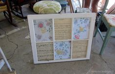 DIY Craft by Lady Lke Reclaimism, Nashville Flea Market, Petticoat Junktion