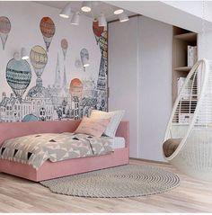 Trendy small kids room ideas for girls bedrooms quartos Girl Room, Girls Bedroom, Baby Room Decor, Bedroom Decor, Bedroom Ideas, Design Bedroom, Baby Bedroom Furniture, Kids Room Design, Baby Design