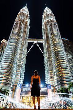 Petronas Twin Towers in KL