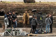 Hollywood stars out in force as Sam Mendes' WWI epic 1917 films at Govan Docks Sam Mendes, Mark Strong, George Mackay, Academy Award Winners, British Soldier, Skyfall, Latest Images, World War I, Hollywood Stars