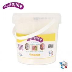 Pot de poudre à fondre Scultoline Blanc x1kg