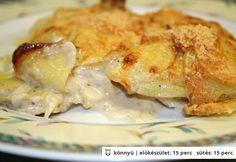 Villámgyors krémes-ropogós tepsis krumpli