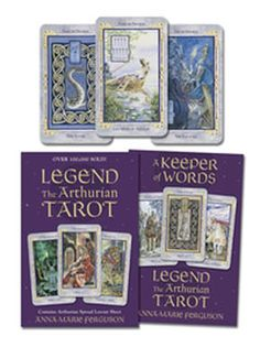 Rediscover the Arthurian legend as artist and writer Anna-Marie Ferguson blends medieval myth with the wisdom of the Tarot. Speaking to us in a deep, intuitive way, the Legend Tarot expands the traditional interpretations of the cards and enriches your readings by drawing on the mythology of the Arthurian world. The kit includes a newly designed layout sheet that opens the doorway to the higher knowledge of our shared mythology. - See more at: http://www.mythical-gardens.com