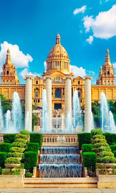 This is my next trip coming up and I am so excited!   The National Museum in Barcelona, Spain
