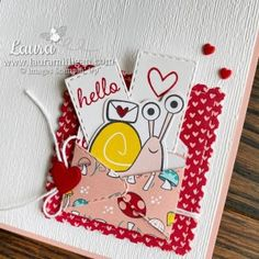 Snail Cards, Snail Mail Pen Pals, Happy Mail, Card Sketches, Cute Cards, I Card, Cardmaking, Stampin Up, Poster