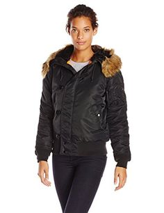 Alpha Industries Women's N-2B Hooded Waist Length Parka