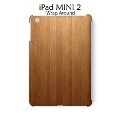 Wood Bamboo Texture iPad Mini 2 Case Cover Wrap Around
