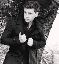 Allen Leech aka the adorable, infuriating, very Irish Tom Branson from Downton Abbey.