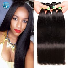 7A grade brazilian virgin hair straight weaving 100 natural black human hair fast shipping soft brazilian straight hair 4bundles *** Check out this awesome product by clicking on the VISIT button